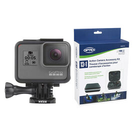 GoPro Hero5 Black with Optex Action Camera Kit - PKG 24778