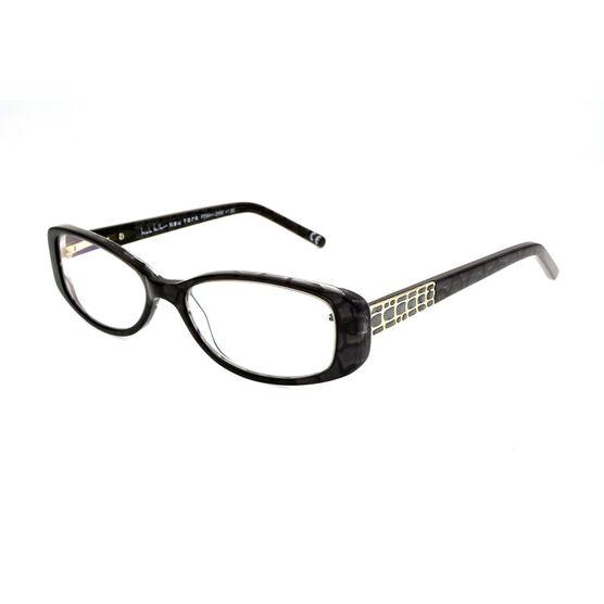 Foster Grant Willow Reading Glasses - Black/Chrome - 2.00