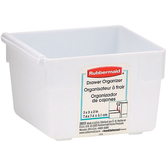 Rubbermaid Drawer Organizer - White