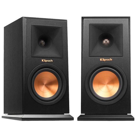 "Klipsch Reference Premiere Monitor Bookshelf Speaker - Pair - 5.25"" - RP150MB"