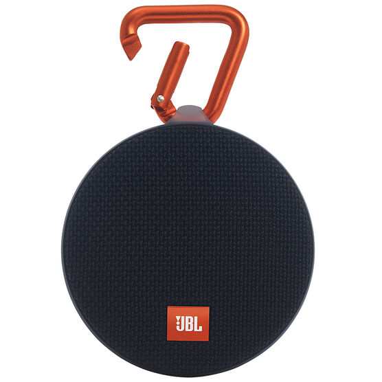 JBL Clip 2 Bluetooth Speaker - Black - JBLCLIP2BLKAM