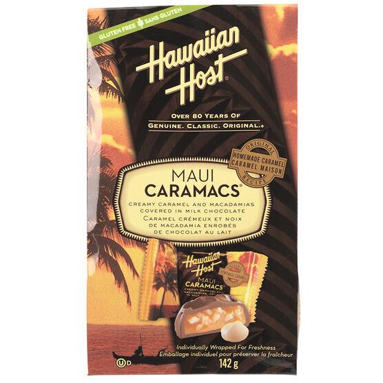 Hawaiian Host Maui Caramacs - Milk Chocolate - 142g