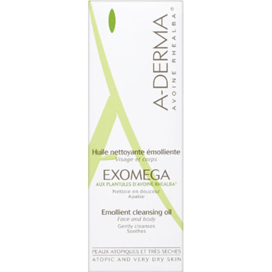 A-Derma Exomega Emollient Cleansing Oil - 200ml