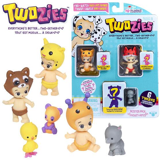 Twozies Series 1 Friends Pack