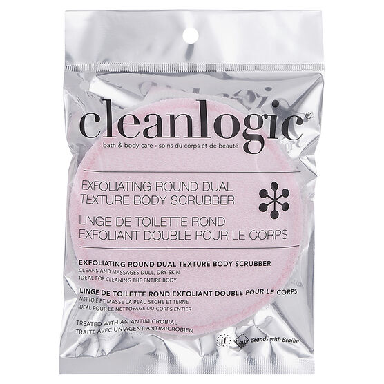 Cleanlogic Bath & Body Care Exfoliating Round Body Scrubber - Assorted