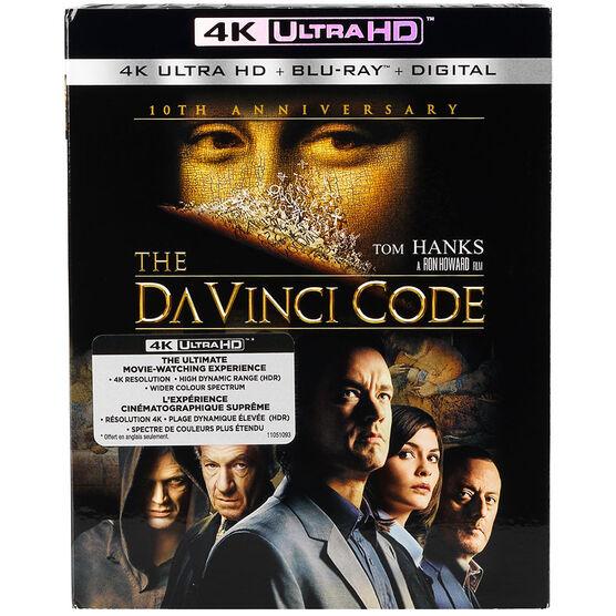 The Da Vinci Code - 4K UHD Blu-ray