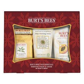 Burt's Bees Face Essentials Set - 4 piece