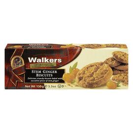 Walkers Stem Ginger Biscuits - 150g