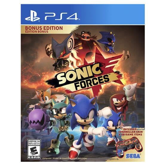 PS4 Sonic Forces Bonus Edition