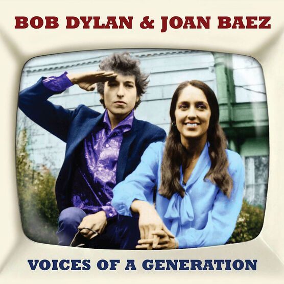 Bob Dylan and Joan Baez - Voices Of A Generation - 2 CD