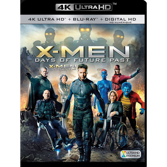 X-Men: Days of Future Past - 4K UHD Blu-ray
