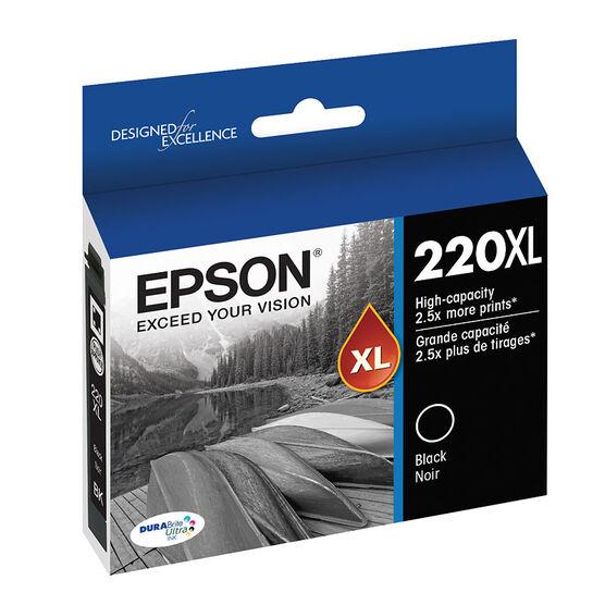 Epson 220XL Ink Cartridge - Black - T220XL120-S