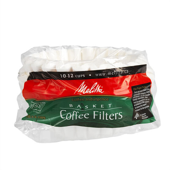 Melitta Basket Filter - White