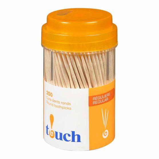Touch Toothpicks Round- 250's