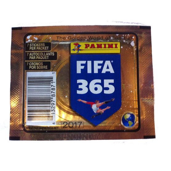 2016/17 Fifa 365 Soccer Stickers - 50 pack