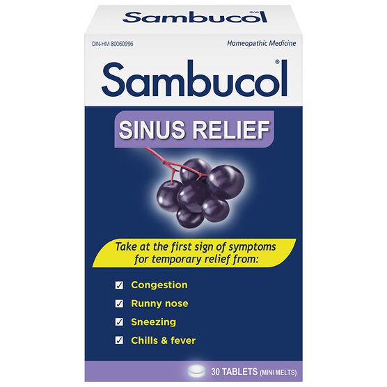 Sambucol Cold & Flu Nasal Relief - Black Elderberry - 30's