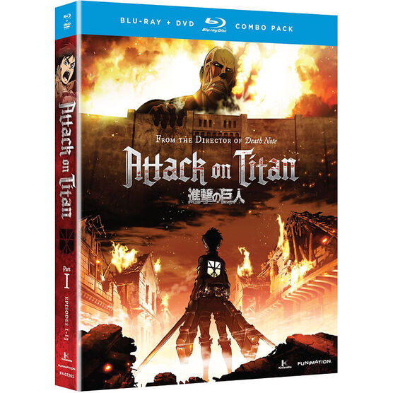 Attack on Titan: Part I - Blu-ray Combo