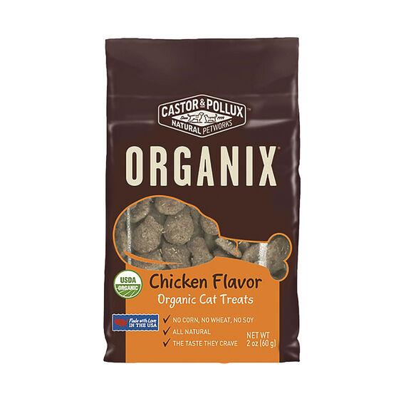 Organix Cat Treats - Organic - Chicken Flavour - 60g