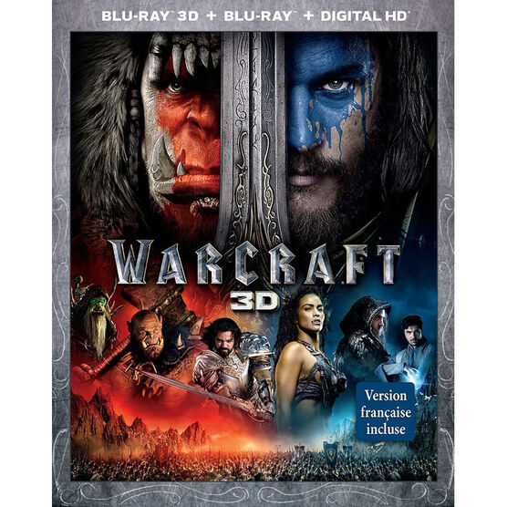 Warcraft - 3D Blu-ray