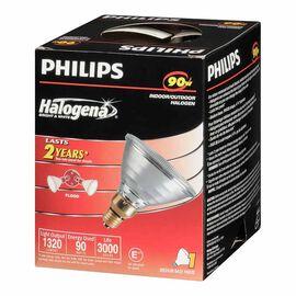 Philips 90W PAR38 Halogena Flood Light Bulb - 129916