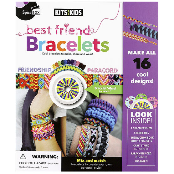 Spicebox Kits 4 Kids - Best Friend Bracelets