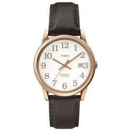 Timex Easy Reader Full Size Watch - Brown/Rose Gold - T2P563GP