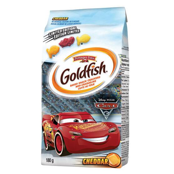 Pepperidge Farm Goldfish Crackers - Disney Cars - 180g