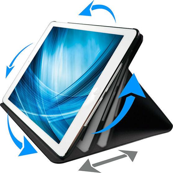 Logiix Axis Rotating Folio for iPad Air - Black - LGX-10678