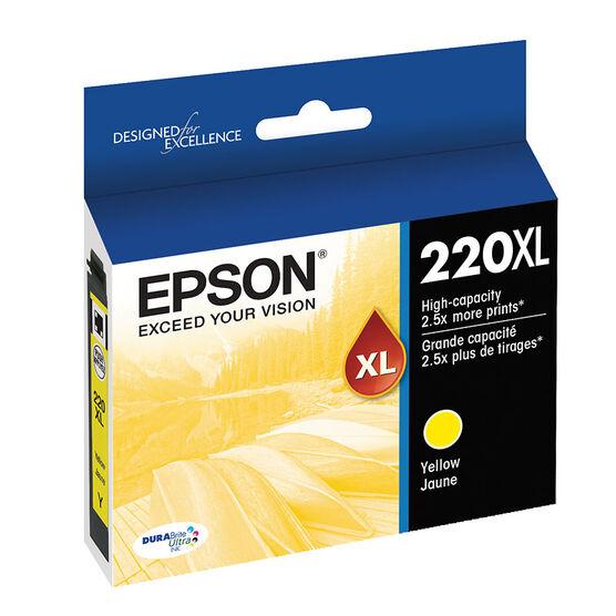 Epson T220XL420 XLInk Cartridge - Yellow - T220XL420-S