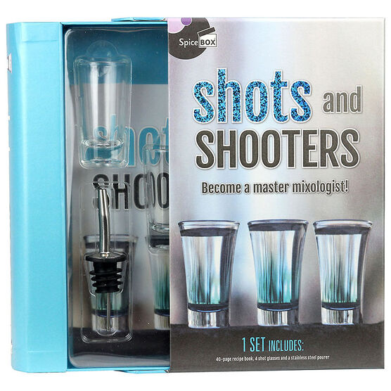 Spicebox Shots and Shooters Gift Set