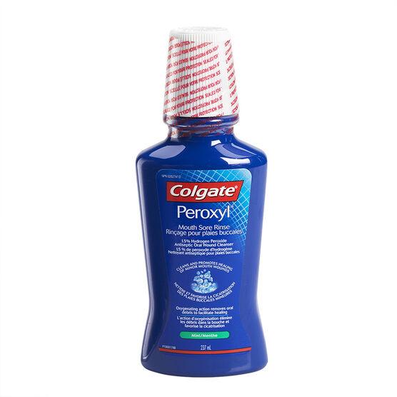 Colgate Peroxyl Mouthrinse - 237ml
