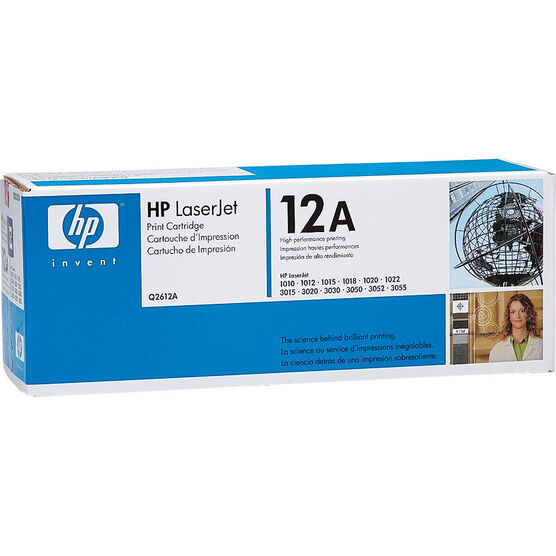 HP LaserJet 1020 Cartridge with Ultraprecise Toner - Black - Q2612A