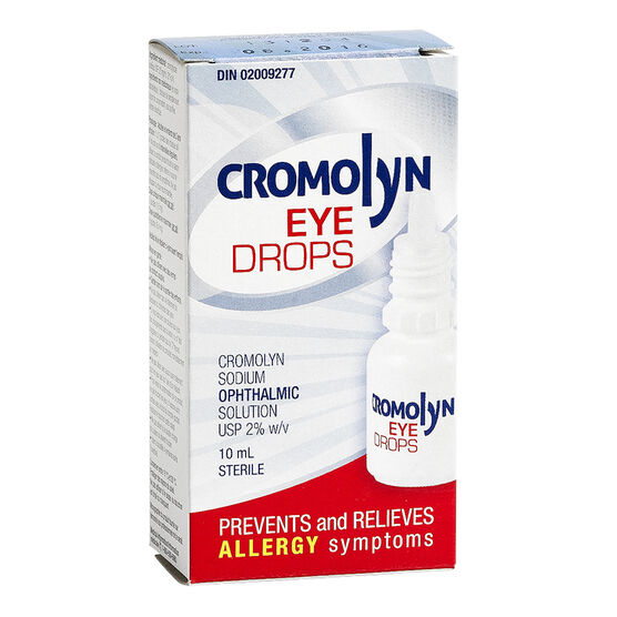 Cromolyn Ophthalmic Solution - 10ml