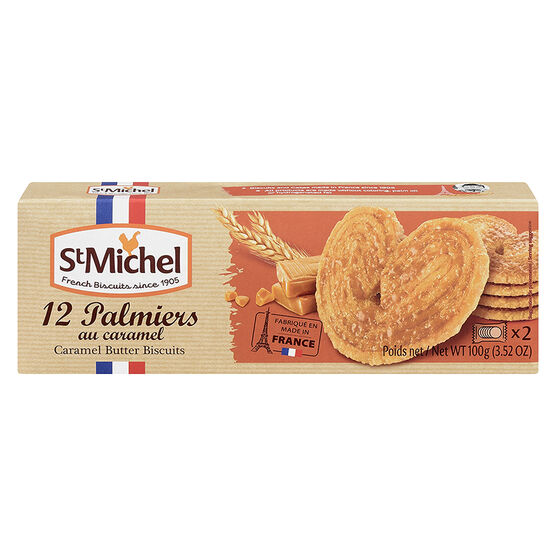 St. Michel Caramel Butter Biscuits - 100g