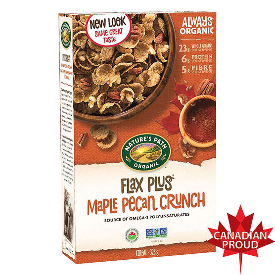 Natures Path Organic Flax Plus - Maple Pecan Crunch - 325g