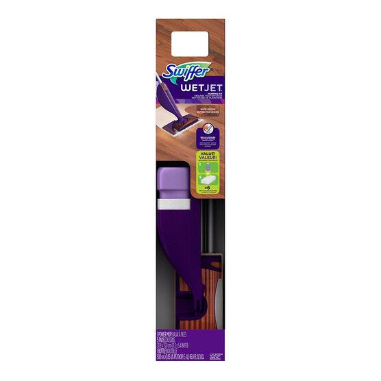 Swiffer Wet Jet Starter Kit - Wood Edition