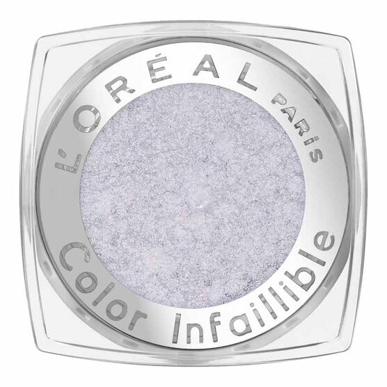 L'Oreal La Couleur Infallible Eyeshadow - Flash Back Silver