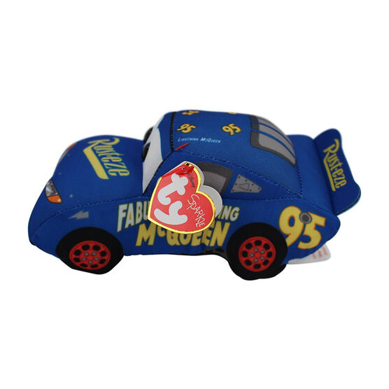 TY Beanie Baby - Cars 3 - Fabulous McQueen - Blue