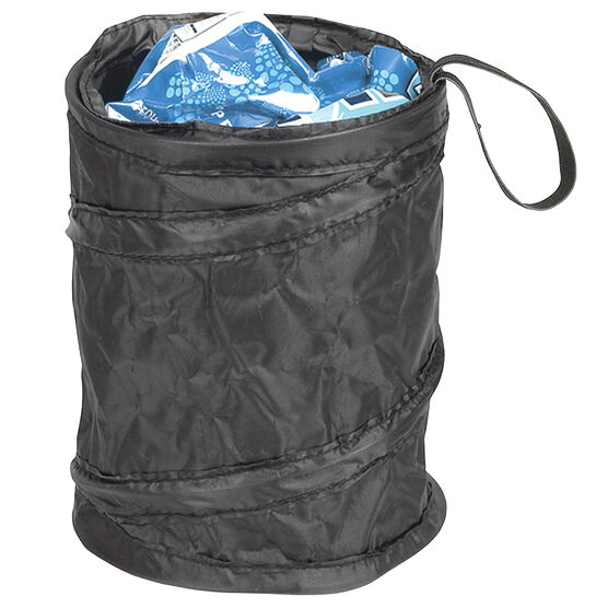 Carrand Pop-Up Trash Can - Black