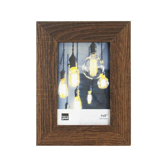 KG Loft Driftwood Frame - Espresso - 4X6