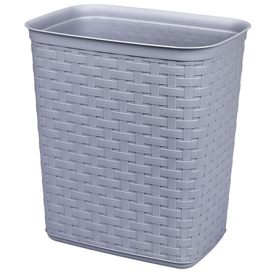 Sterilite Weave Wastebasket - Cement - 12.87L