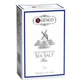 A.Genco Coarse Mediterranean Sea Salt - 1kg