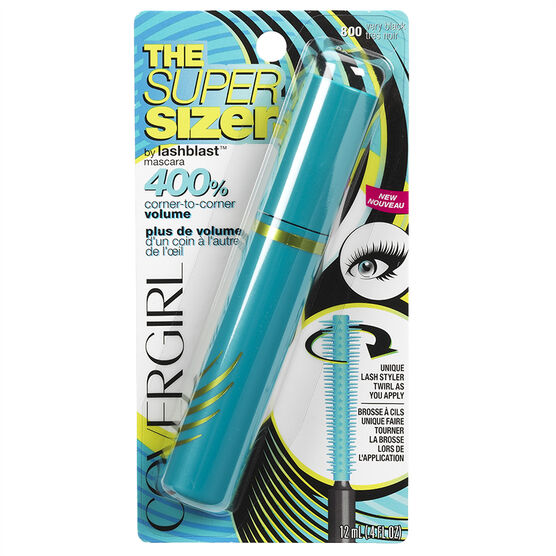 CoverGirl The Super Sizer By LashBlast Mascara - Very Black
