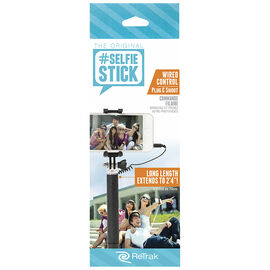 ReTrak Pocket Wired Selfie Stick - ETSELFIEPW