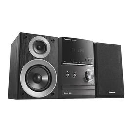 Panasonic CD Mini System - Black - SCPM600