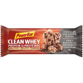 PowerBar Clean Whey Protein Bar - Chocolate Chip Cookie Dough - 60g