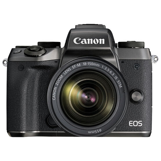 Canon EOS M5 Body with 18-150mm f/3.5-6.3 IS STM Lens - Black - 1279C021