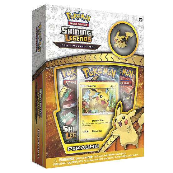 Pokemon Shining Legend Pin Pikachu