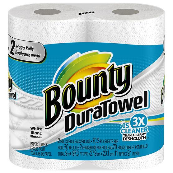 Bounty Duratowel Mega Rolls - 2's