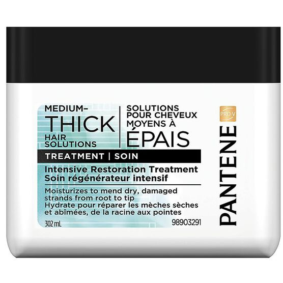 Pantene Pro-V Medium-Thick Hair Solutions Intensive Restoration Treatment - 302ml